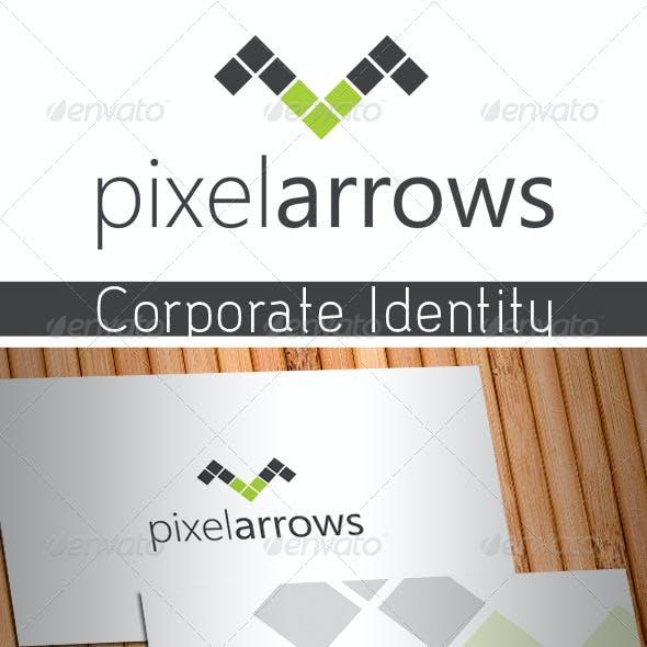 Pixel Arrows Stationery