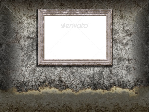 Wall and Frame - Backgrounds Decorative