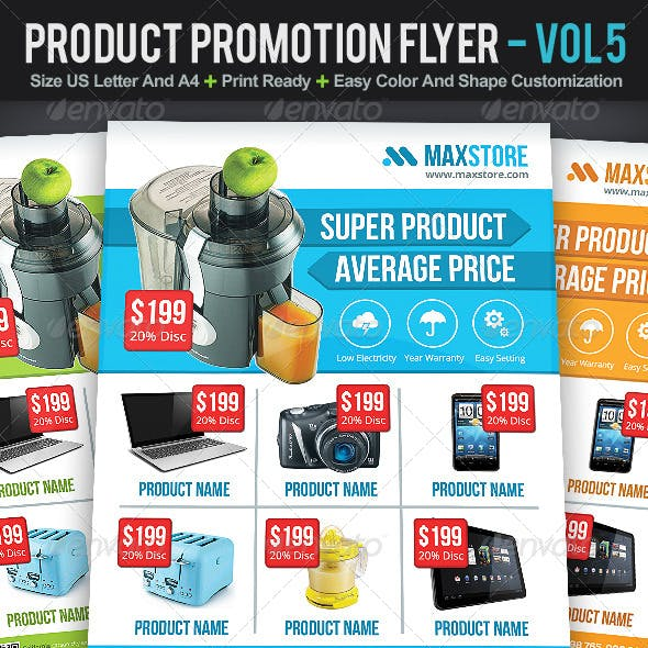 Product Promotion Flyer | Volume 5
