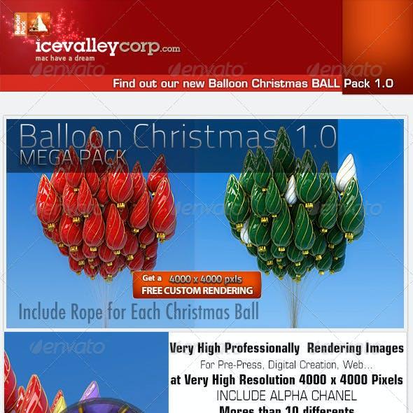 Christmas Balloon Ball Decoration-Hires