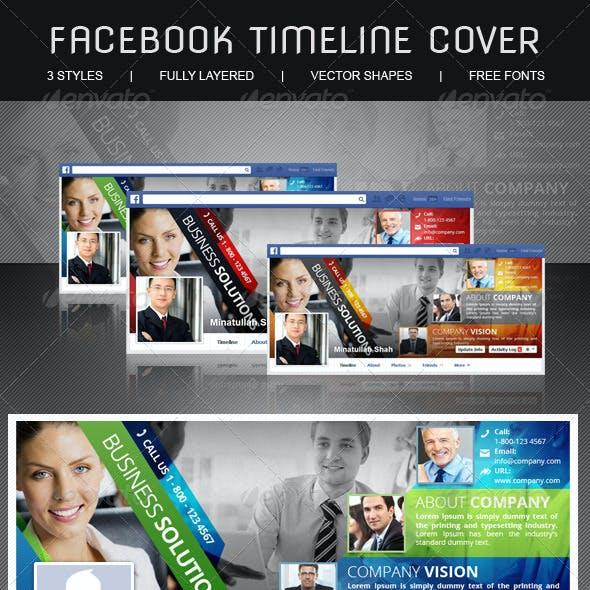 Multipurpose Corporate Facebook Timeline