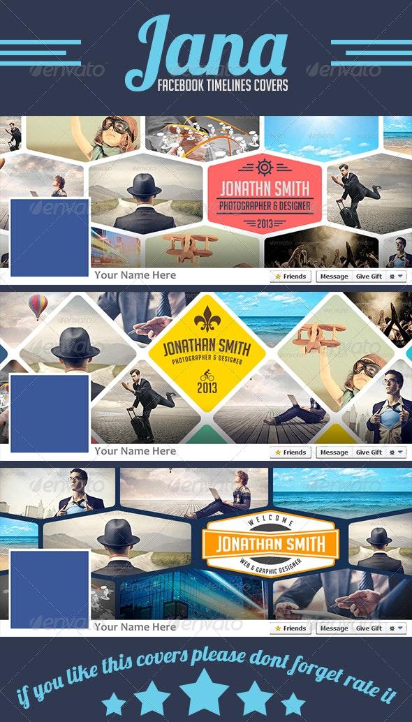 Jana Facebook Timelines Covers - Facebook Timeline Covers Social Media
