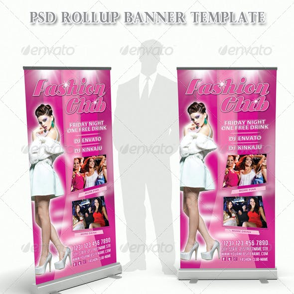 Fashion Club Rollup Banner 08