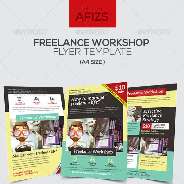 Freelance Workshop Flyer