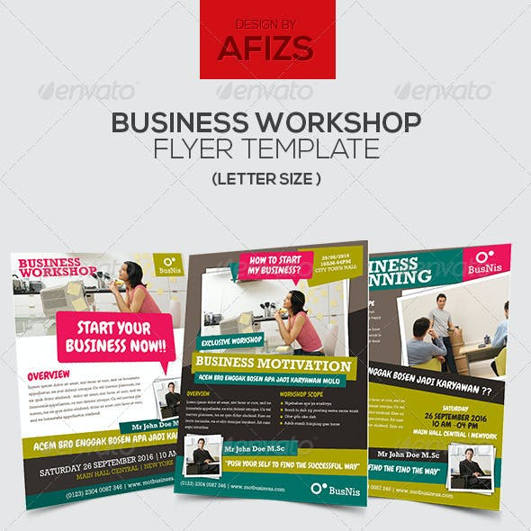 Business Workshop Flyer