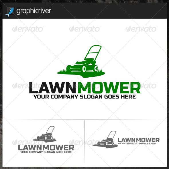 Lawn Mower Logo Templates