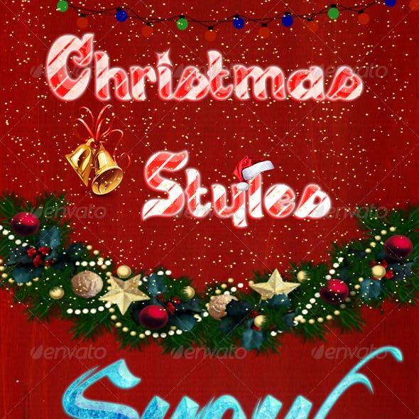 8 Christmas Styles