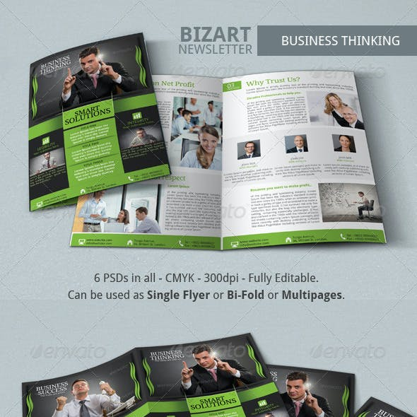 Bizart Corporate Newsletter Template