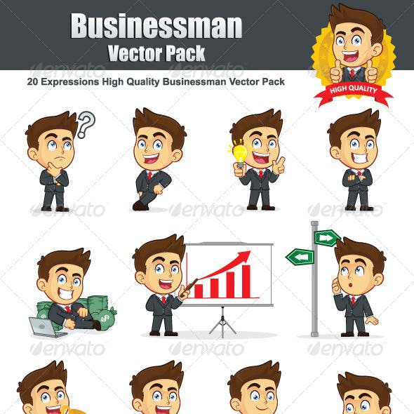 Businessman Vector Pack