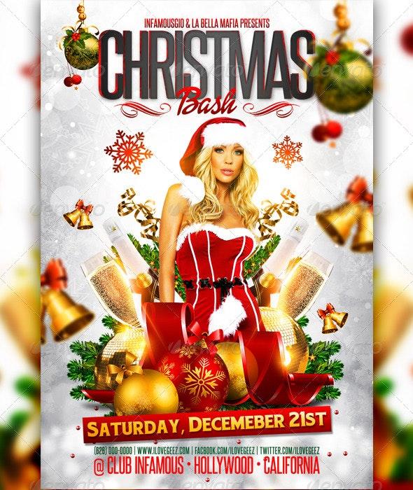 Christmas Bash - Holidays Events