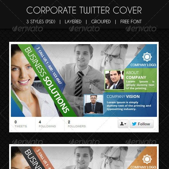 Multipurpose Corporate Twitter Cover