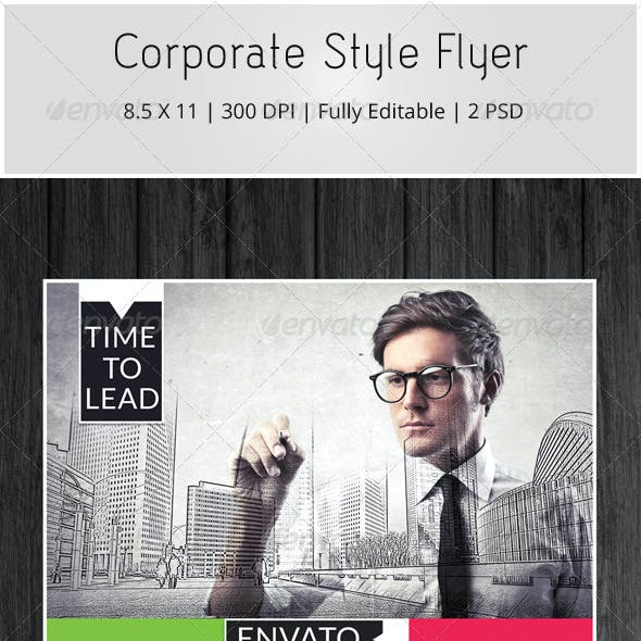 Corporate Style Flyer
