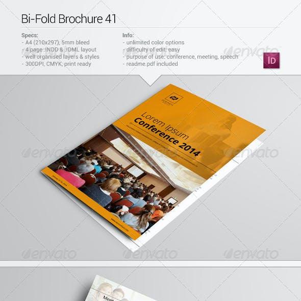 Bi-Fold Brochure 41