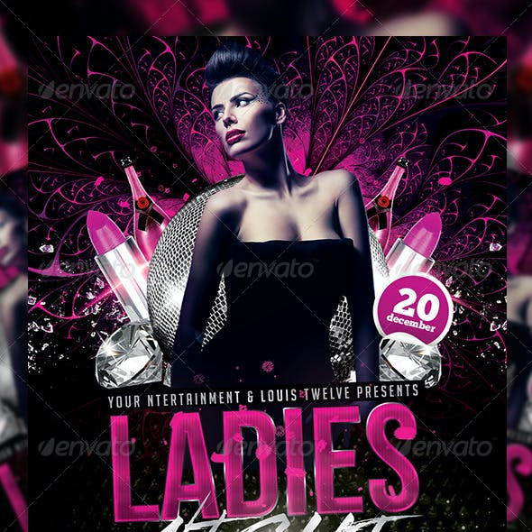 Ladies Night | Flyer + FB Cover