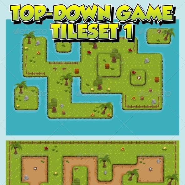 Top-Down Game Tileset 1
