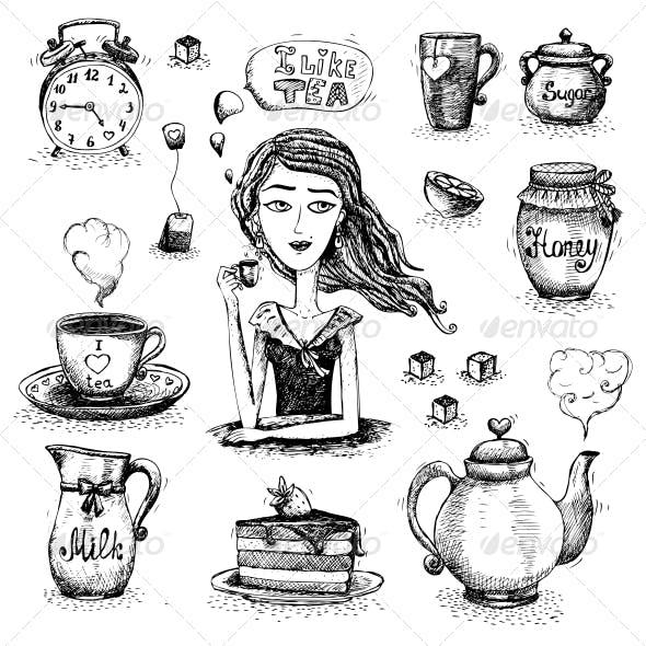 Love of Tea Scene