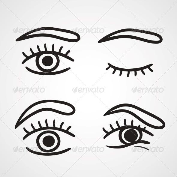 Eyes Icons Design