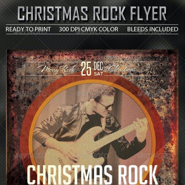 Rock Christmas Flyer