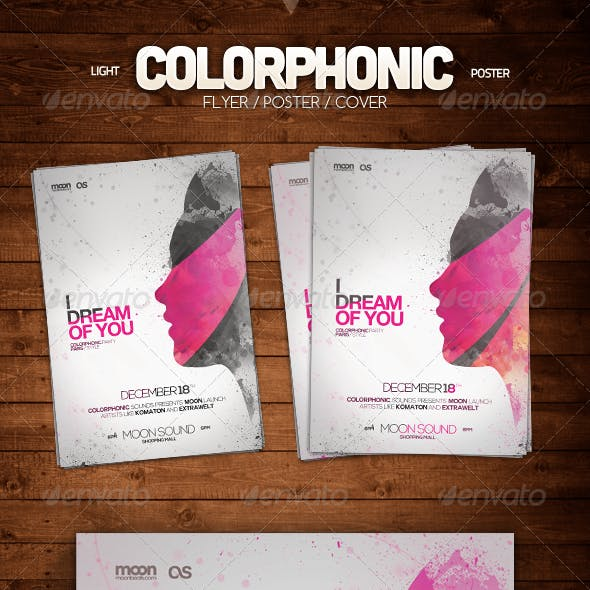 Light Colorphonic Poster