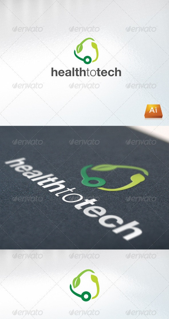 tech to health - Abstract Logo Templates