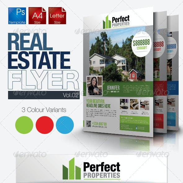 Simple Real Estate Flyer Vol.2