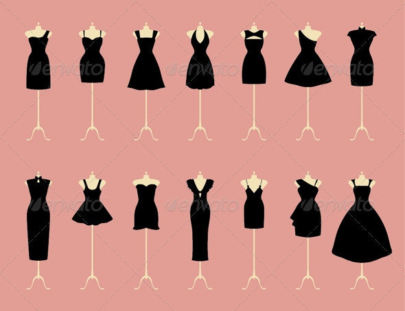 Black Dresses  - Weddings Seasons/Holidays
