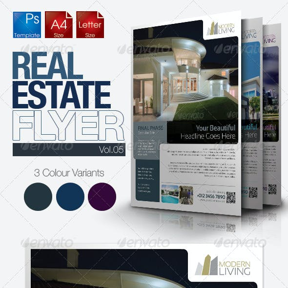 Simple Real Estate Flyer Vol.05