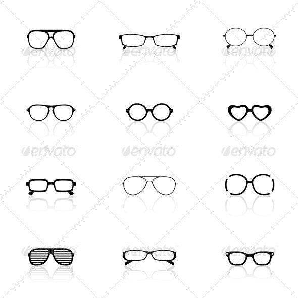 Sunglasses - Decorative Symbols Decorative