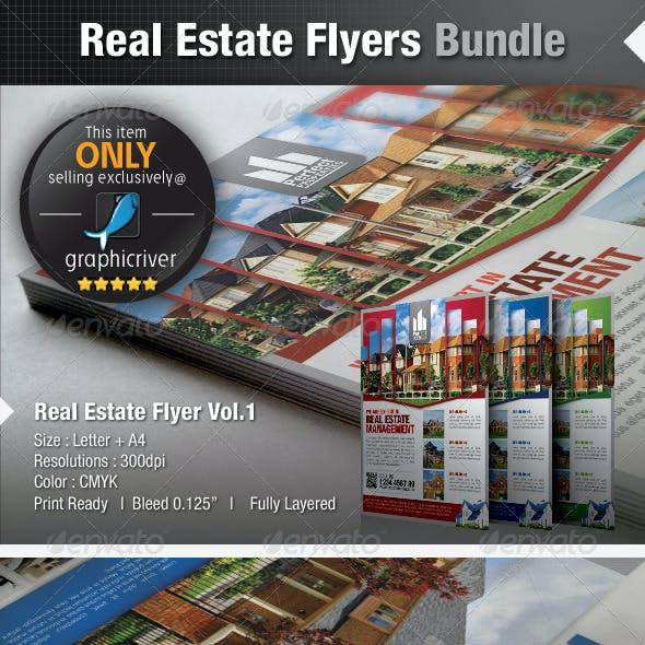 Simple Real Estate Flyers Bundle