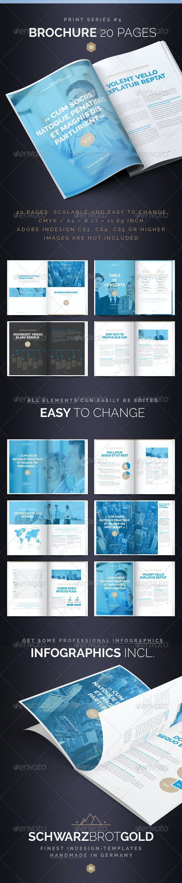 Brochure 20 Pages Series 5 - Corporate Brochures