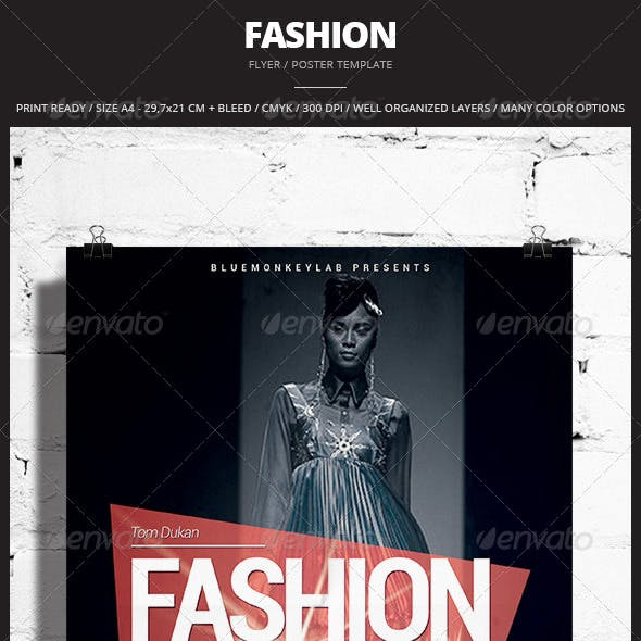 Fashion Flyer / Poster 2