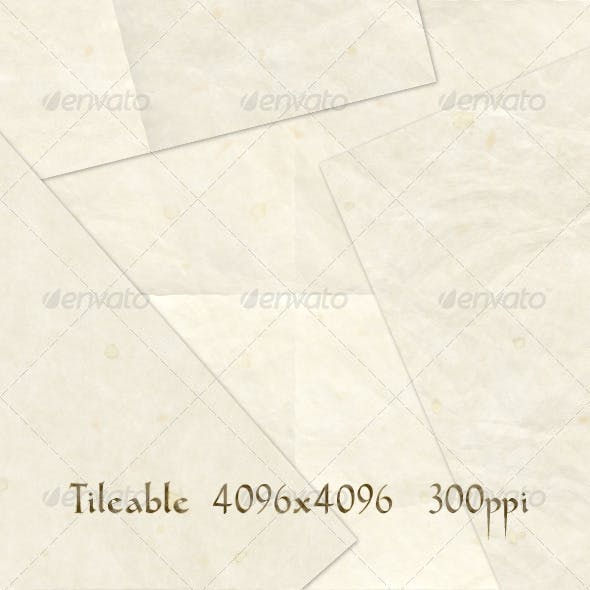 4 Old Paper Textures
