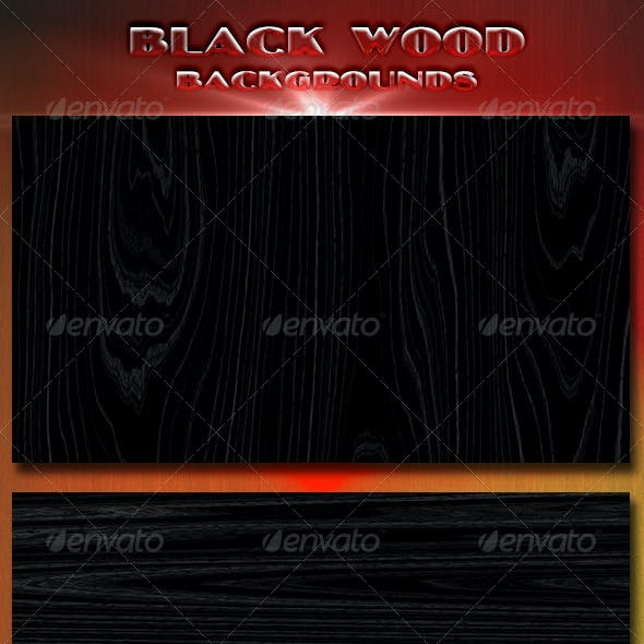 Black Wood Backgrounds