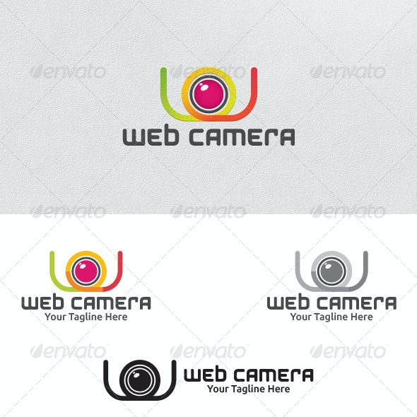 Web Camera - Logo Template