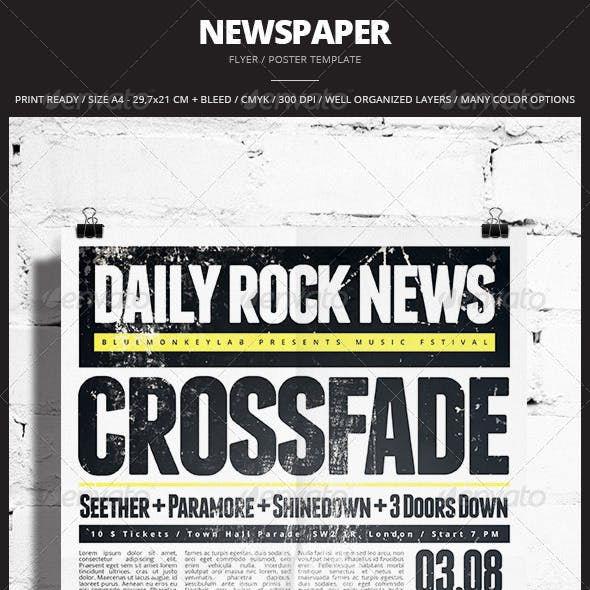 Newspaper Flyer / Poster 2