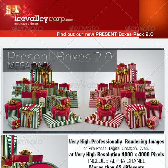 45 Present / Gift Box HiRes christmas-with bow