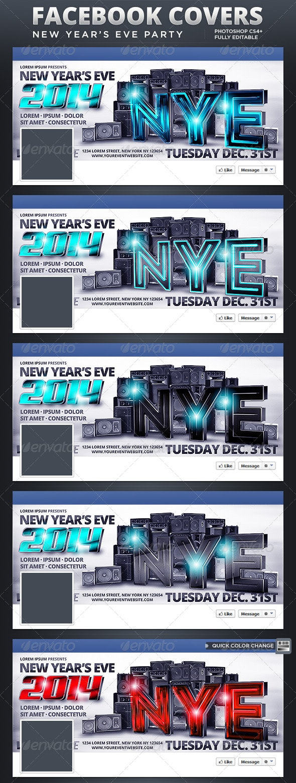 NYE Party Facebook Covers - Facebook Timeline Covers Social Media