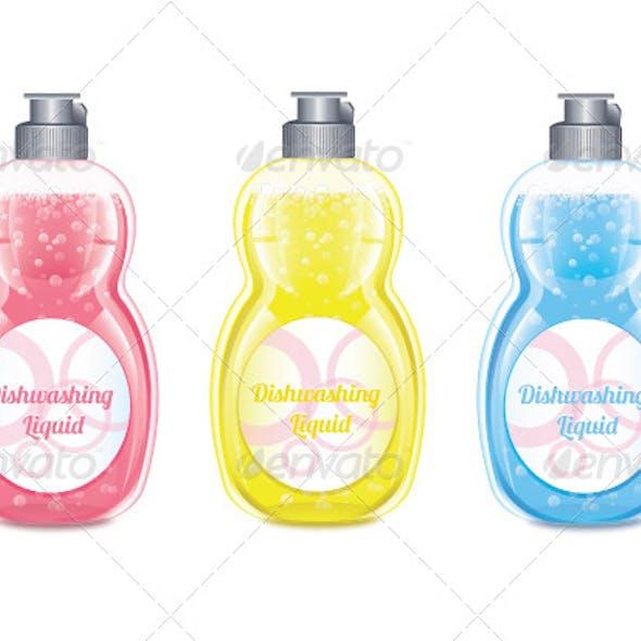 Dishwashing Liquid Set