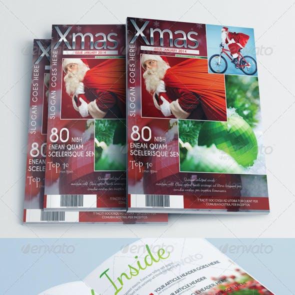 Magazine Template - Christmas Edition