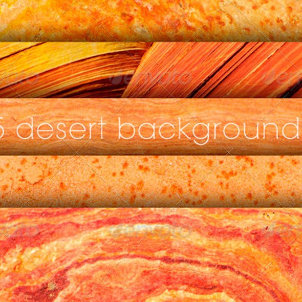 5 Utah Desert Textures or Backgrounds
