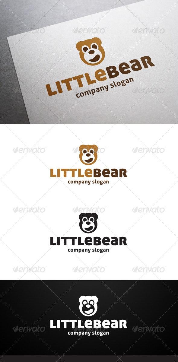 Little Bear Logo - Animals Logo Templates