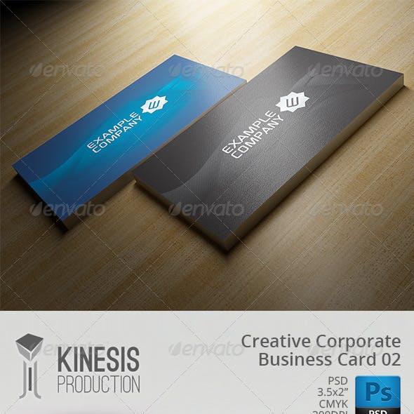Creative Corporate Business Card 02