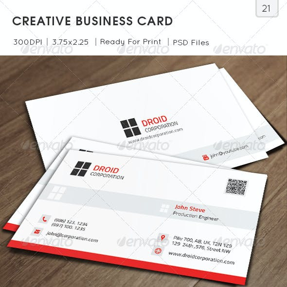 Creative Business Card v21