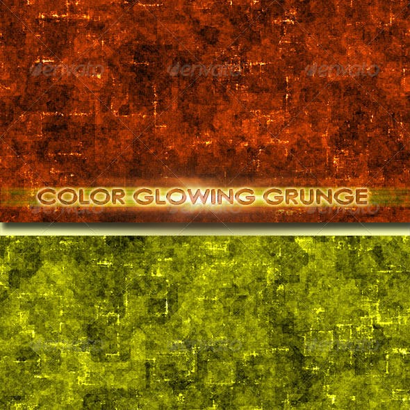 Color Glowing Grunge