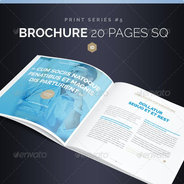 Brochure Square 20 Pages Series 5