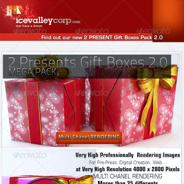 Dual Presents Gift Boxes Hires Multi Chanel