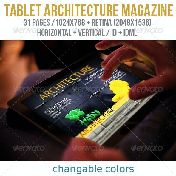 iPad & Tablet Architecture Magazine