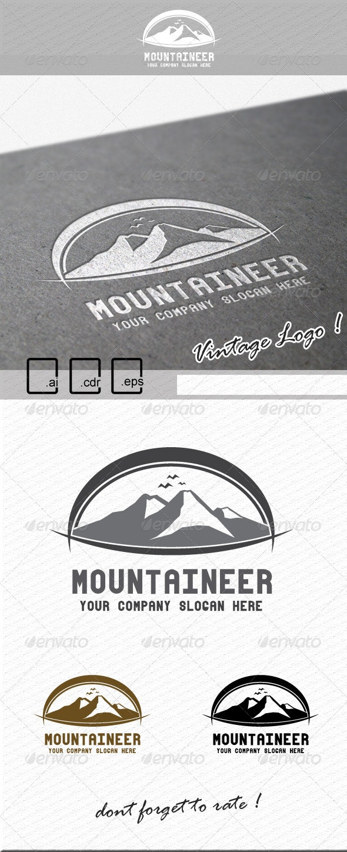 Mountaineer Logo - Nature Logo Templates