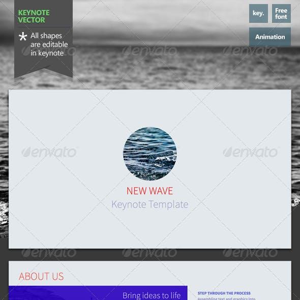New Wave - Keynote Template