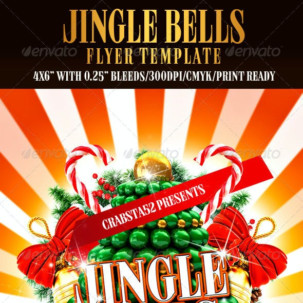 Jingle Bells Flyer Template